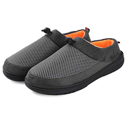 Men Home Clog Slippers House Shoes Anti Skid Indoor Outdoor Unique Design ()