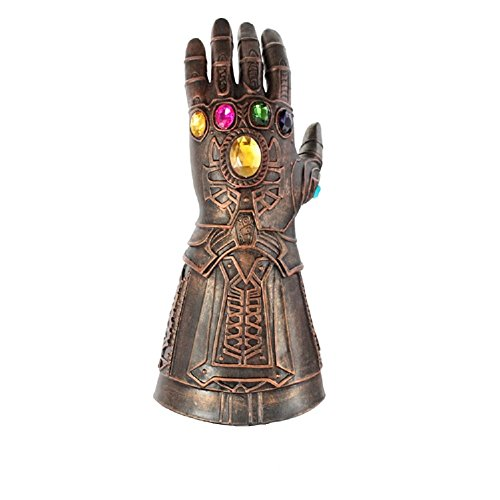 Thanos Gauntlet Gloves Infinity Cosplay Costume Props Party Halloween Accessories Mens Gauntlet