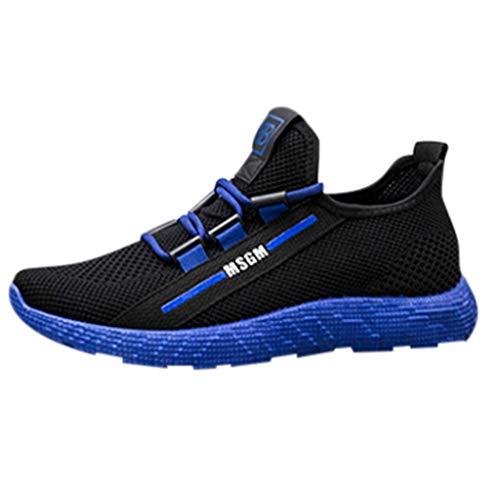 (JJLIKER Mens Fashion Sneakers Ultra Lightweight Breathable Mesh Street Sport Gym Running Walking Shoes)