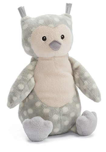 Jellycat Ollie Owl Chime Rattle, 11 inches