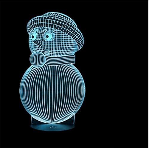 Navidad Usb De Touch Creativo Nieve Muñeco 3d 9EDHIYW2
