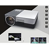 Ewin Multimedia Mini Portable LED Projector Video Theater Home Projector SD/HDMI/VGA/AV/USB
