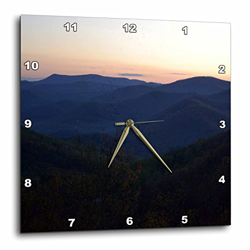 3dRose dpp_51055_1 Mountains in North Georgia Wall Clock, 10 by - North In Georgia Outlets