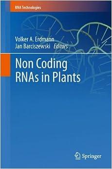 Book Non Coding Rnas in Plants (RNA Technologies)