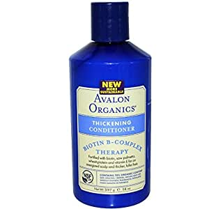 Avalon Organics Cond,Thickening,Biotin B, 2-Pack