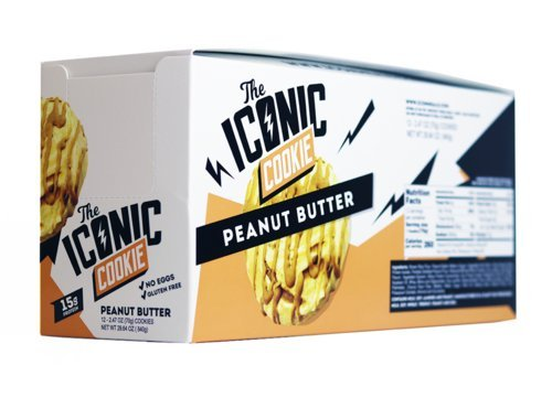 c Cookie: Peanut Butter 12 cookies x 2.47 oz each (Icon Protein)