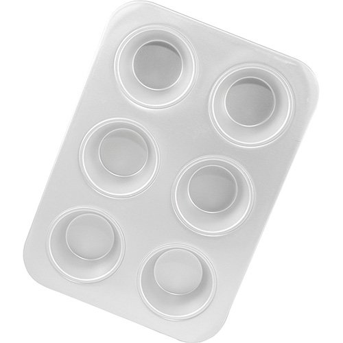 Fat Daddio's 6-Cup Jumbo Muffin Pans, Case of 6