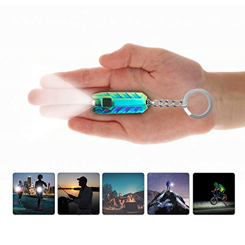 TANY Keychain Flashlight Rechargeable Brightest product image
