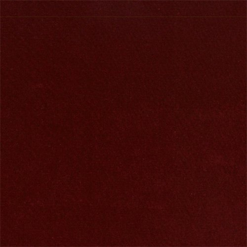 JB Martin Crimson Red Velvet Home Decorating Fabric, Fabric by The Yard ()