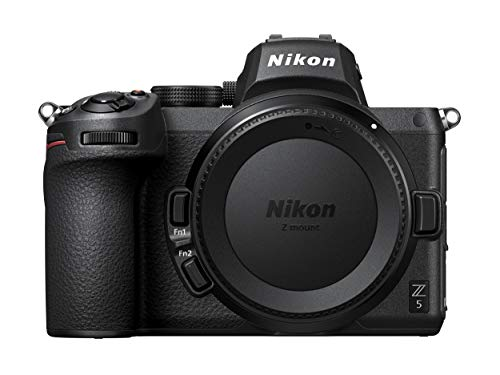 Nikon Z 5 Camera Body Mirrorless Camera (273-point Hybrid AF, 5-axis in-body optical image stabilisation, 4K movies…