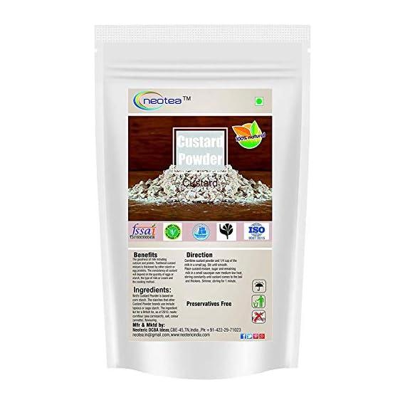 Neotea Custurd Powder, Vannila Flavor - 500g