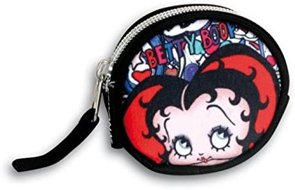 Monedero redondo de Betty Boop Lips (100/3): Amazon.es ...