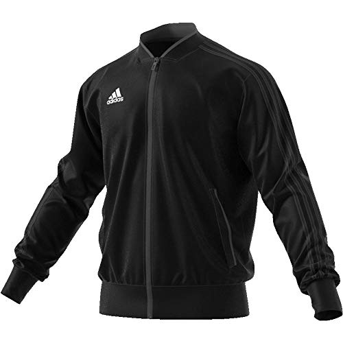 Noir Veste Polyester blanc Condivo Adidas 18 Jacket Homme wnOqFOYga