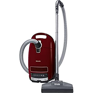 Miele 10660820 Complete C3 Cat and Dog PowerLine Bagged Vacuum Cleaner, 890 W, Red