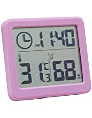 Digital Indoor Hygrometer Thermometer with Time Display