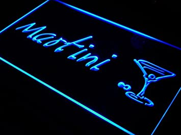 ADVPRO Martini Cocktails Beer Bar Pub LED Sign Neon Light Sign Display i551-b(c)