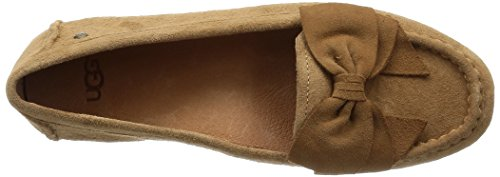 Bow Suede Flats 1010098 Fixed UGG Chestnut Lilliana Women's ZnqwTnC6x
