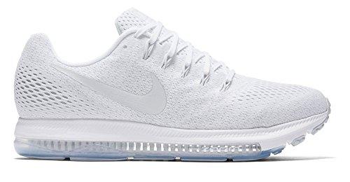 Nike Femmes Zoom Toutes Les Chaussures De Course Bas (9,5 B (m) Us, Blanc / Platine Pur)