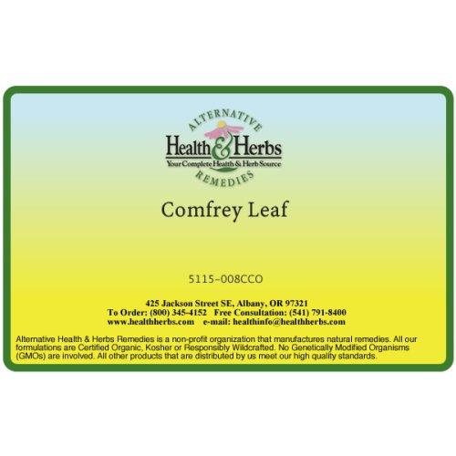 Santé Alternative et fines herbes remèdes consoude Leaf, 8-Ounce Bag