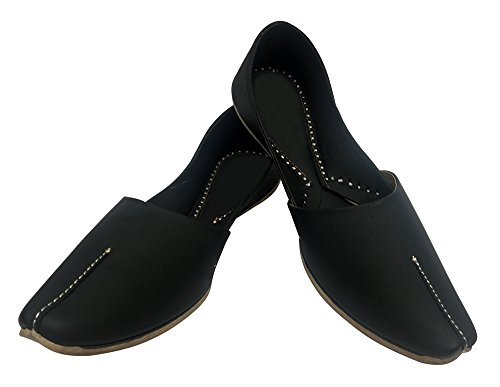 Khussa Sandals Jutti Sherwani Step Style Indian Handmade Men Shoes Leather n Jooti qz8wvSqP