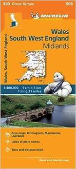Descargar Bittorrent En Español Mapa Regional Wales, South West England, Midlands Libro Epub