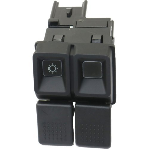Headlight Switch compatible with Mustang 87-93 6 Male Terminals