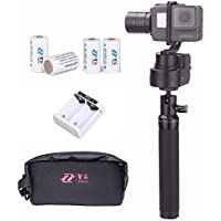 Zhiyun Z1-Rider M WG Wearable 3 Axis Brussless Gopro Camera Gimbal Stabilizer for Gopro Hero 5/4/3/3+ Support APP Remote Control Upgraded Version of Zhiyun Z1-Rider2 w/ EACHSHOT Cleaning Cloth