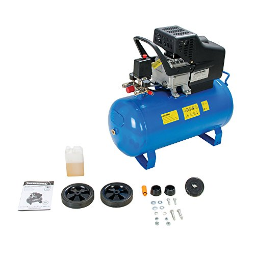 Silverline Tools 357345 DIY Air Compressor 50 Litre - Buy Online in