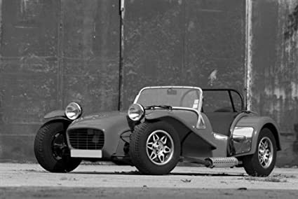 Lotus Super 7 >> Amazon Com Caterham Lotus Super 7 Black And White Hd