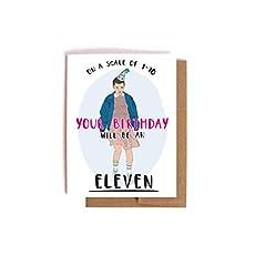 Amazon michael scott the office birthday card handmade stranger things eleven birthday card bookmarktalkfo Images