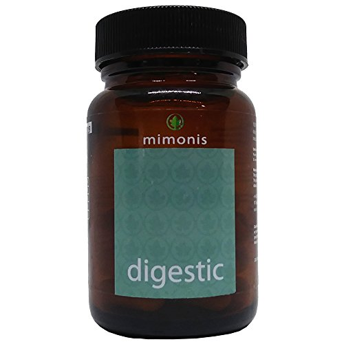 Digestic - Constipation Relief - IBS - 100% Organic and Natural Ingredients - Digestive Supplement Pills for Constipation, IBS, Gas, Bloating, Low Fodmaps Diet, Constipation Ease. by Digestic