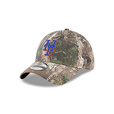 New Era New York Mets Realtree Camo 9TWENTY Adjustable Hat/Cap by New Era