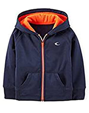 Carter's Boy's Navy Hooded Active Jacket
