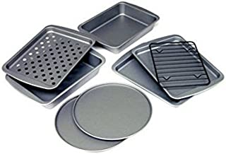 product image for OvenStuff 8-Piece Personal-Size Toaster Oven Bakeware Set