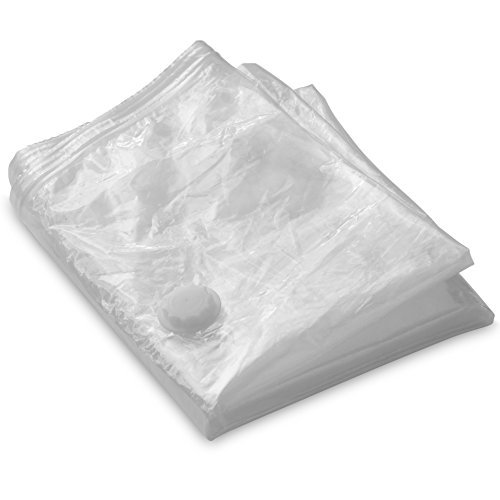 LifeSmart Vacuum Bag for Memory Foam Ventilated Mattress Toppers and Pads - Tri Fold Twin ... (59'' x 51'') by LifeSmart