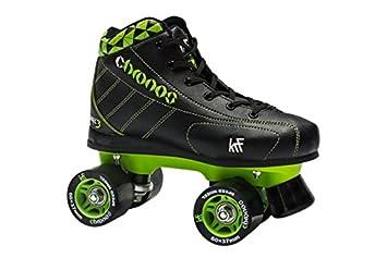 Disco KRF Chronos para patines línea - negro verde Talla:UK 2 / EU 34: Amazon.es: Deportes y aire libre