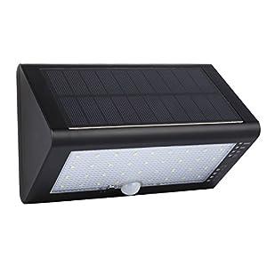 Leshp 35 Led Lampe Solaire Exterieure Etanche Ip65 600 Lumens