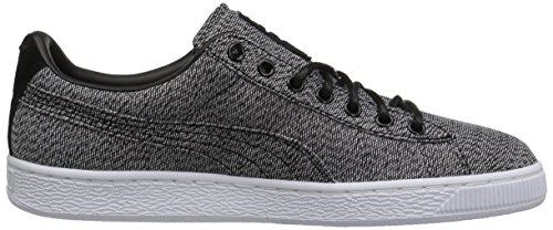 Basket Classic Culture Surf Fashion Sneaker, Puma Black-Puma Blac, 12 M US