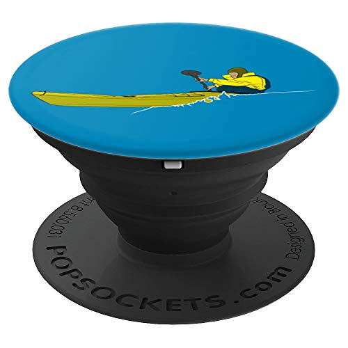 Sea Kayak T Shirt Ocean Kayaking Sea Touring Canoe Graphic - PopSockets Grip and Stand for Phones and Tablets