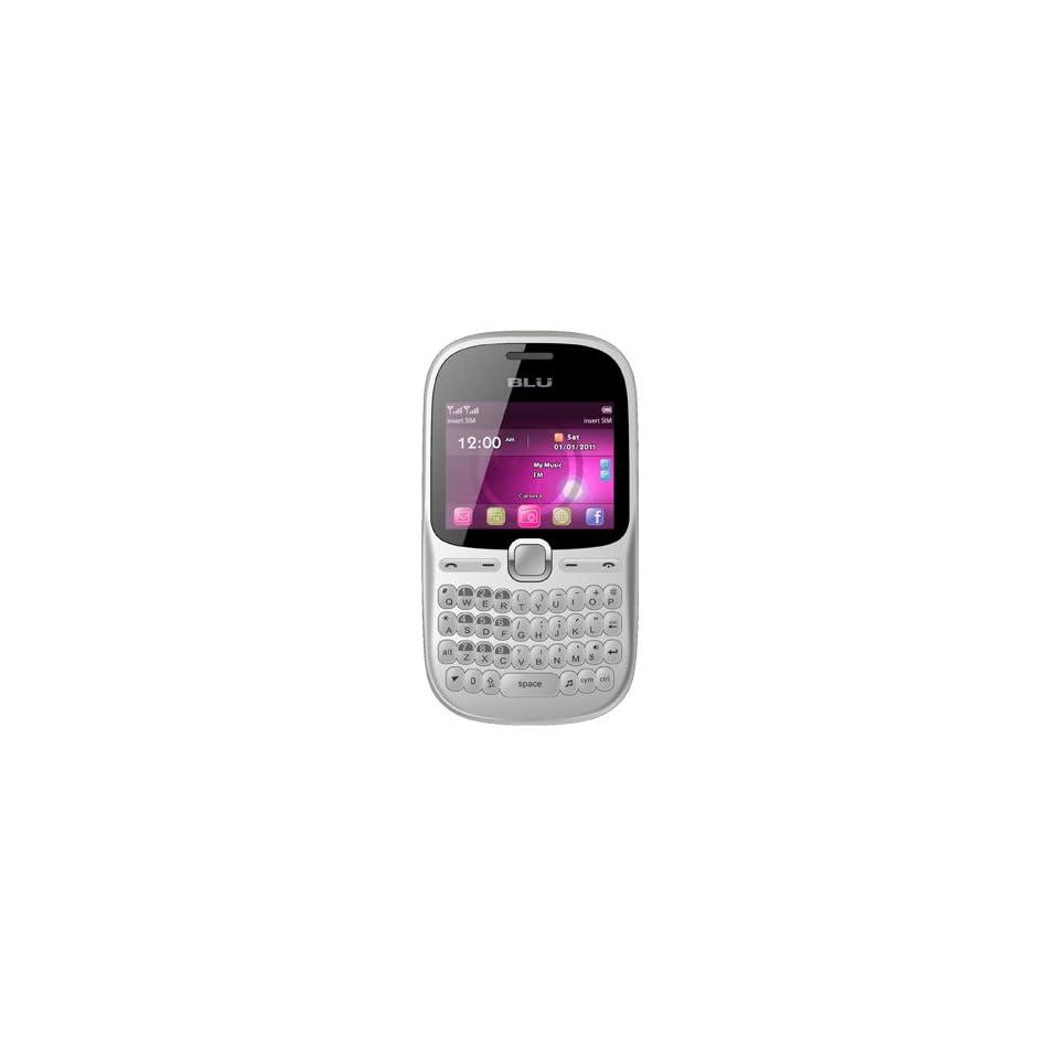 BLU Hero Pro Q333w Unlocked GSM Phone with Tri SIM, QWERTY Keyboard, 1.3MP Camer
