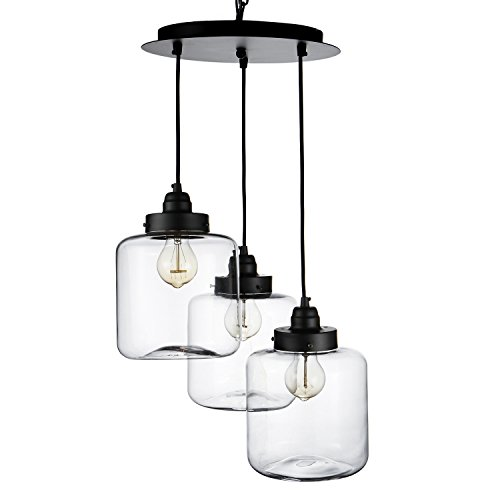 - LightInTheBox Bulb Included Pendant Lights Vintage/Traditional/Classic Chandelier for Living Room/Dining Room 3 Light in 1 Plate