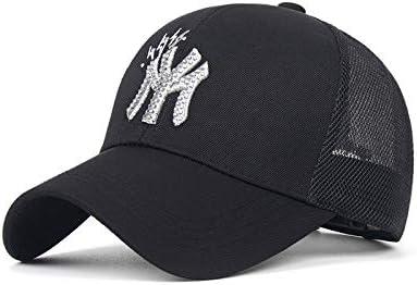 xiaochicun Gorra de béisbol Verano Nueva NY Letra Gorra Bordada ...