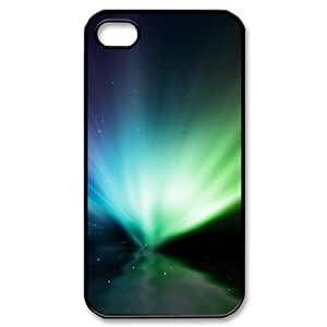 SYYCH Phone case Of Mysterious Arctic Aurora 1 Cover Case For Iphone 4/4s