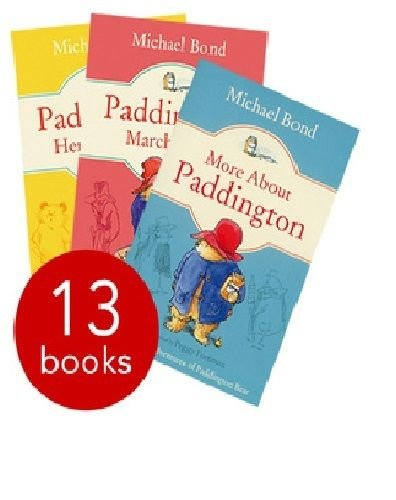 Paddington Series Michael Bond 13 Books Collection Set (Takes the Test,Races Ahead,Here and Now)