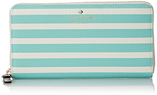 kate spade new york Fairmount Square Lacey Wallet, Fresh Air/Cream, One Size
