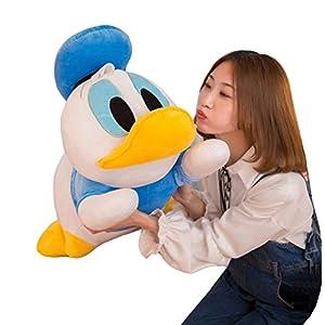 XQYPYL Donald Duck Plush Toy Cute Doll Home Decor Girl Valentines Birthday Gift 50cm-75cm,Blue,50cm