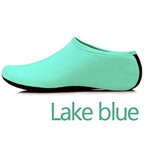 GEFANENR Zapatos De Buceo,Unisex Diving Sock Barefoot Water Lake Blue Sports Shoes Sock,Snorkeling Seaside Swimming Pool…