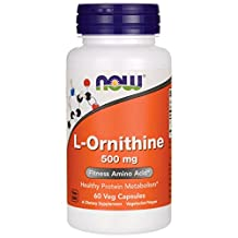 Now L-Ornithine (500mg) 60 caps
