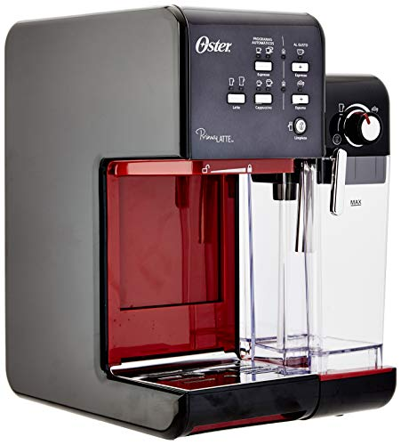 Cafeteira Espresso PrimaLatte II, Oster BVSTEM6701B-017, Vermelho