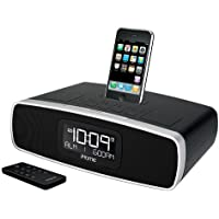iHome iP90BZ  Dual-Alarm Clock Radio with AM/FM Presets and Dock for iPod and iPhone (Black)